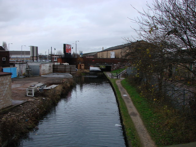 Bromford Lane bridge over canal