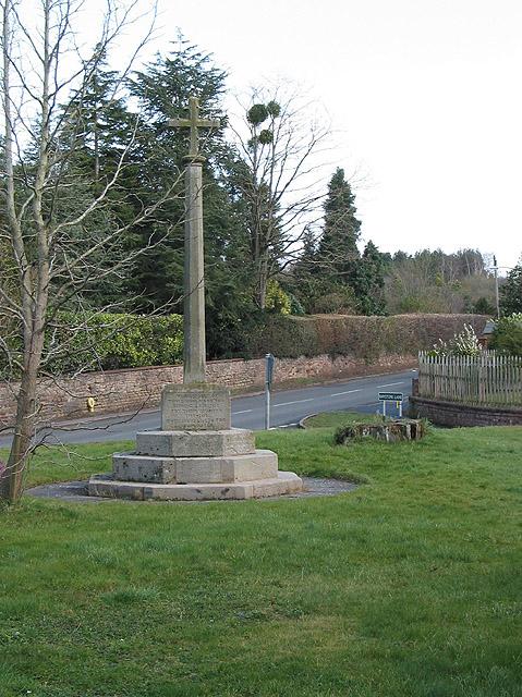 War memorial, Lugwardine