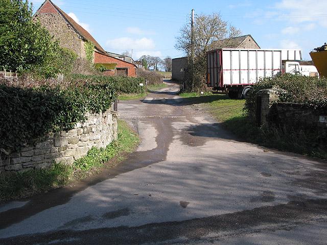 Entrance to Rock Farm, Lugwardine