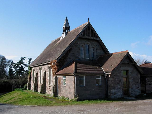 Rear of Lugwardine Chapel