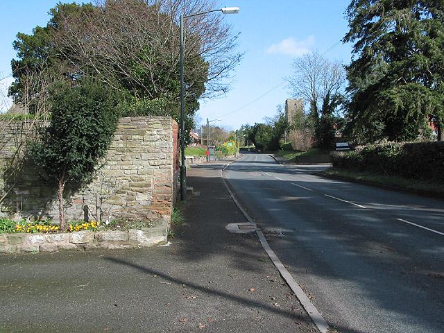 A438 heading east through Lugwardine