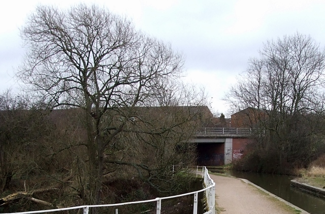 Peelers Way Bridge over Coventry Canal