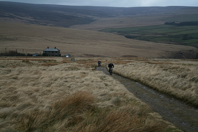 Mountain Biking on the Pennine Way
