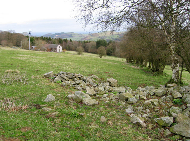 House and farmland