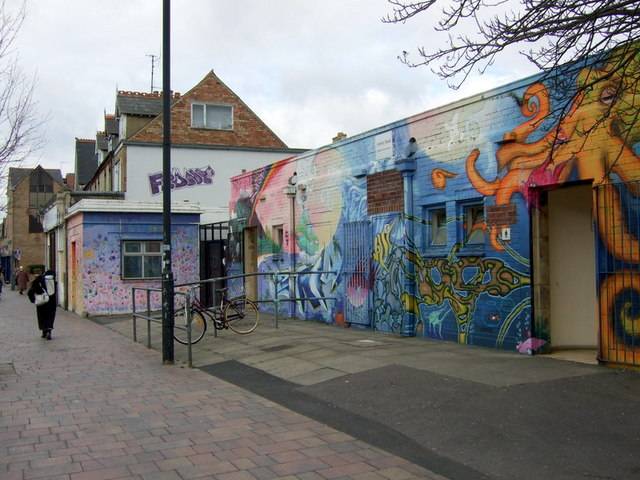 Cowley Road mural