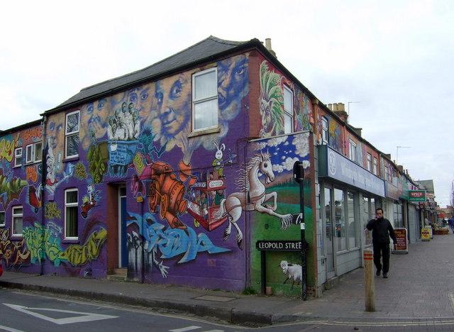Leopold Street mural