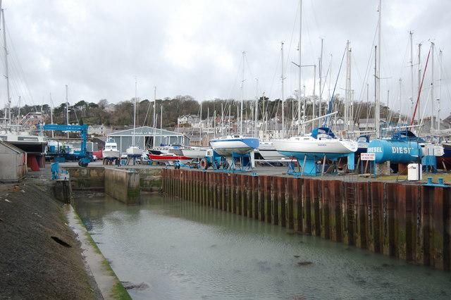 Launching Jetty at Dickies of Bangor