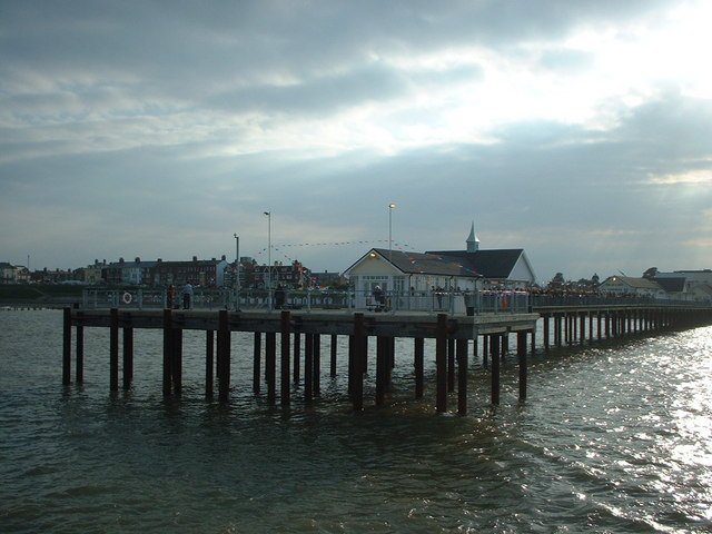 Southwold Pier from the Sea