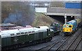 SD8010 : Diesel locomotives East Lancs Railway by michael ely