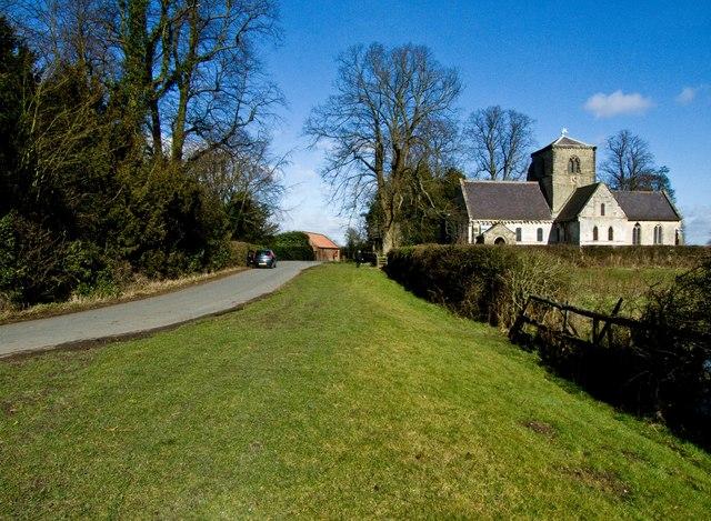 St Botolph's Church Bossall