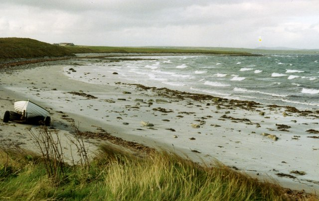 Beach and Deer Sound from Deerness