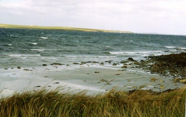 View across Deer Sound from Deerness