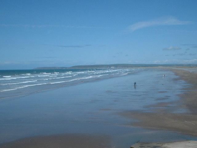 Deserted (nearly) Beach