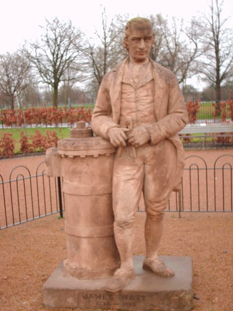 Mr Watt in the Glasgow Green