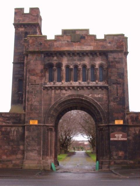 Southern Necropolis Gatehouse