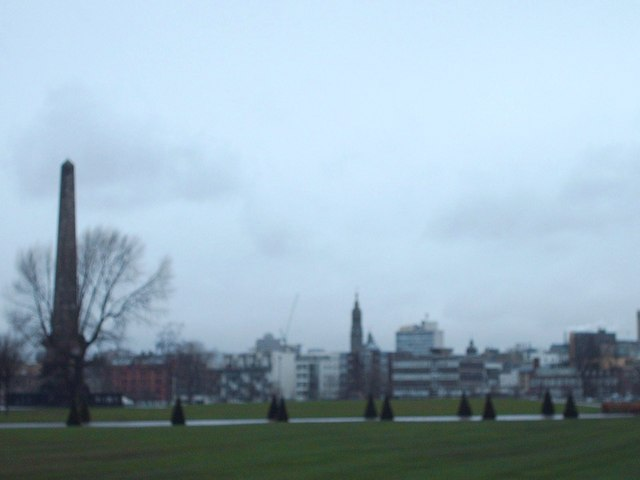 Nelsons Column Glasgow Green