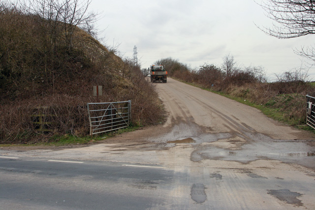 A Heavy Plant has crossed the road