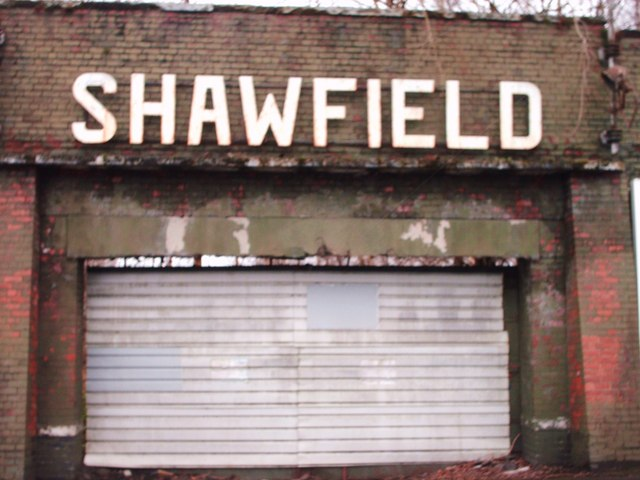 Old Entrance to Shawfield Stadium