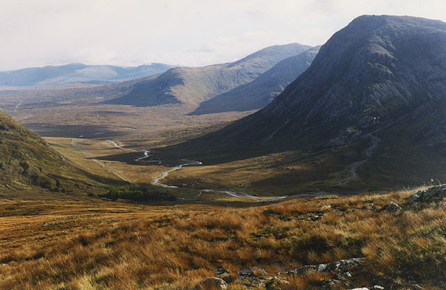 Slopes south east of Stob Mhic Mhartuin