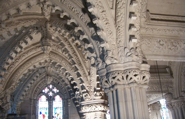 Carvings-Rosslyn Chapel