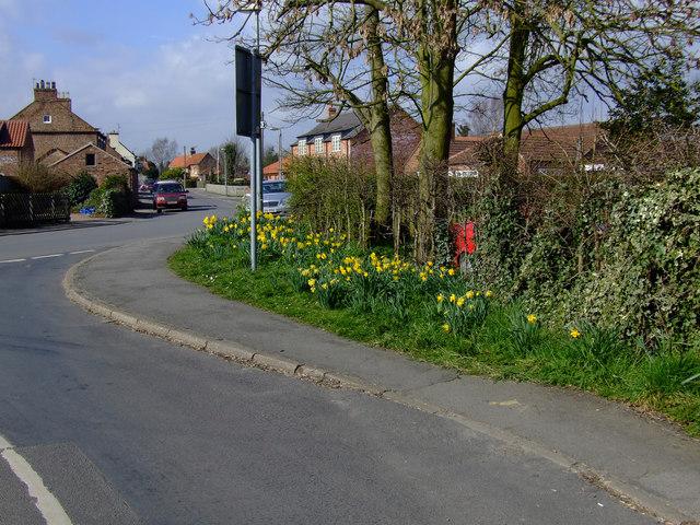 Main Street junction from Slip Road Over Butcher Bridge