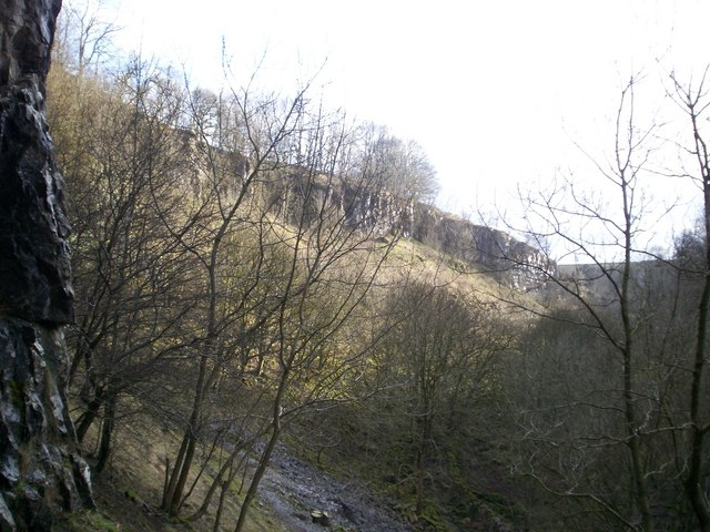 View of Deep Dale from Thirst House cave