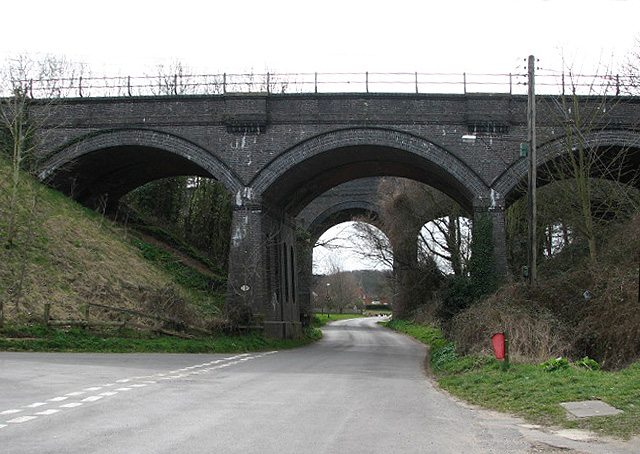 Viaducts over Green's Lane