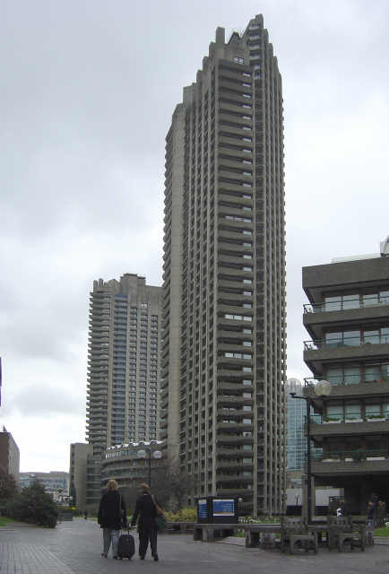 Barbican , Shakespeare Tower