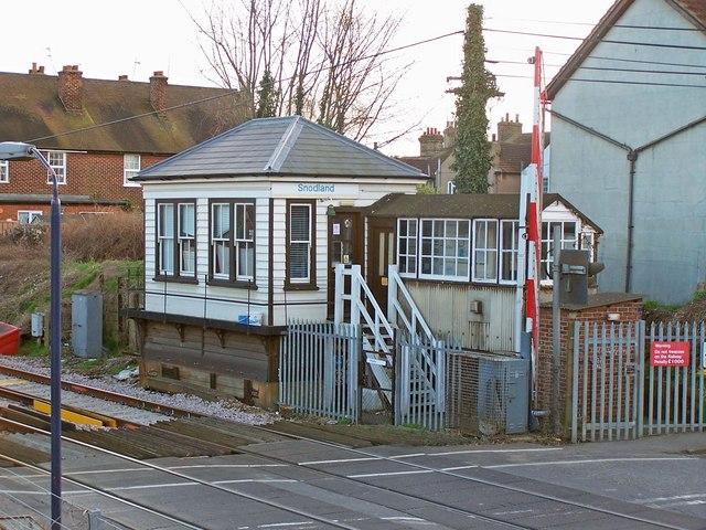 Snodland signal box