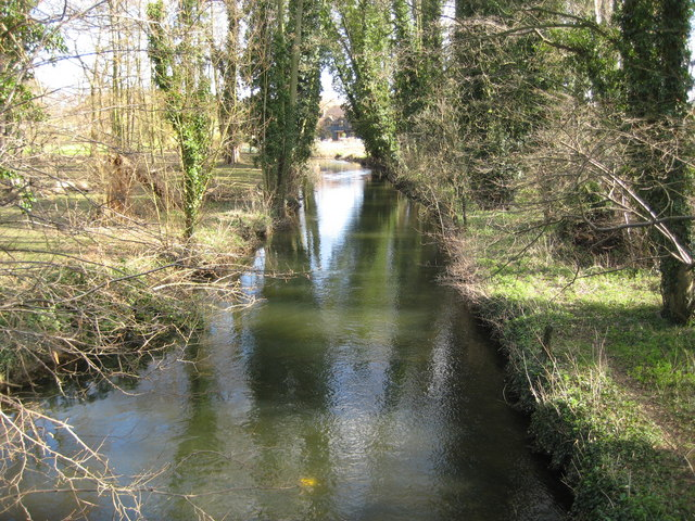 River Lee near Bayfordbury (2)