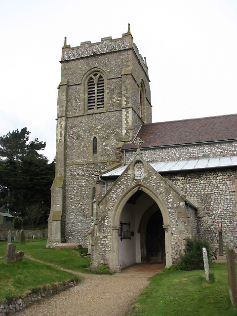 Holy Trinity church - porch and tower