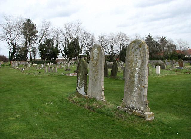 Holy Trinity church - churchyard