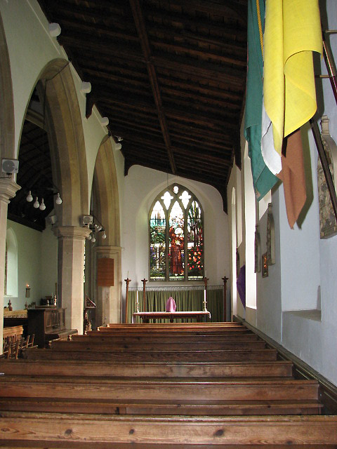 Holy Trinity church - south aisle