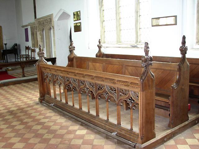 Holy Trinity church - Victorian pews