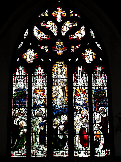 Holy Trinity church - east window
