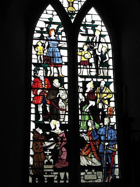 Holy Trinity church - Harry Stammers window