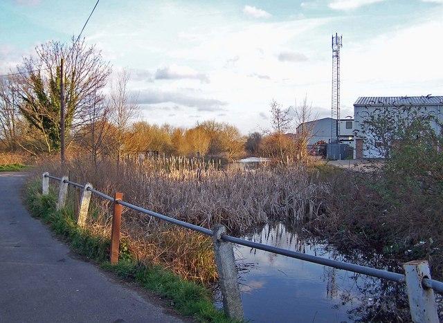 Drainage channel,  Snodland