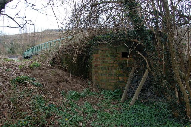 Pillbox at Huntsham bridge