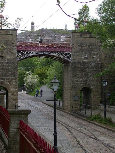 Bowes Lyons bridge, Crich Tramway Village