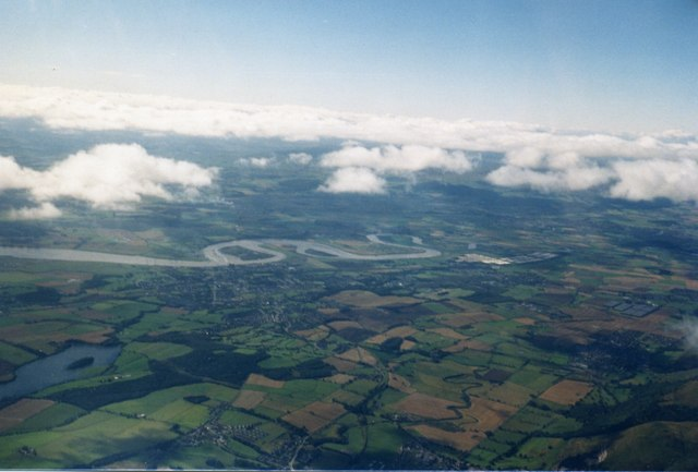 The Forth Valley near Alloa