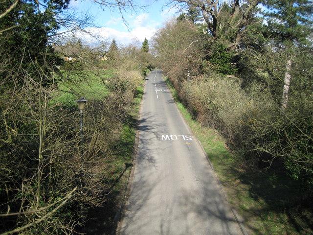 Hertingfordbury: St Mary's Lane