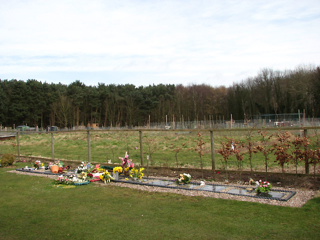 The new Cromer town cemetery