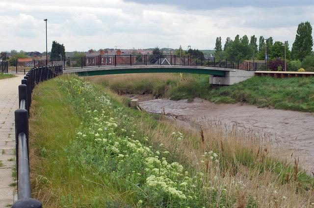 The Bridge across Barton Haven