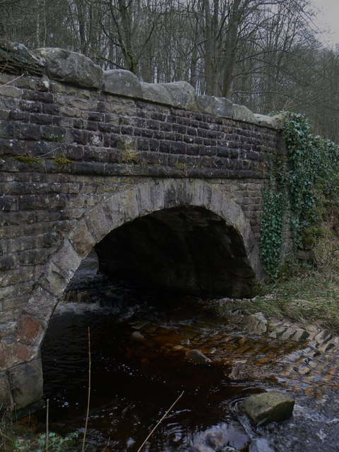 Road bridge over Posforth Gill