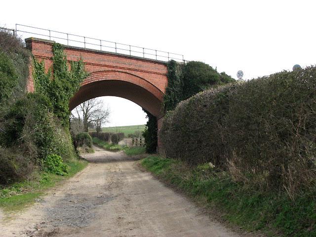 Railwaybridge over Newstead's Lane