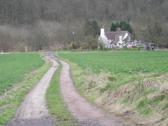 Track to Ballsfoundry