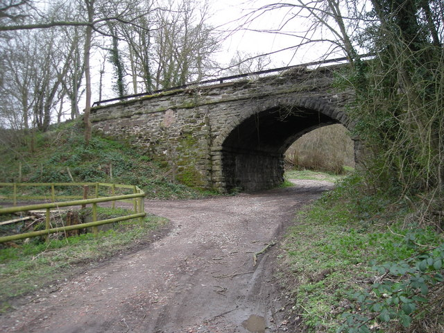 This used to be a railway bridge