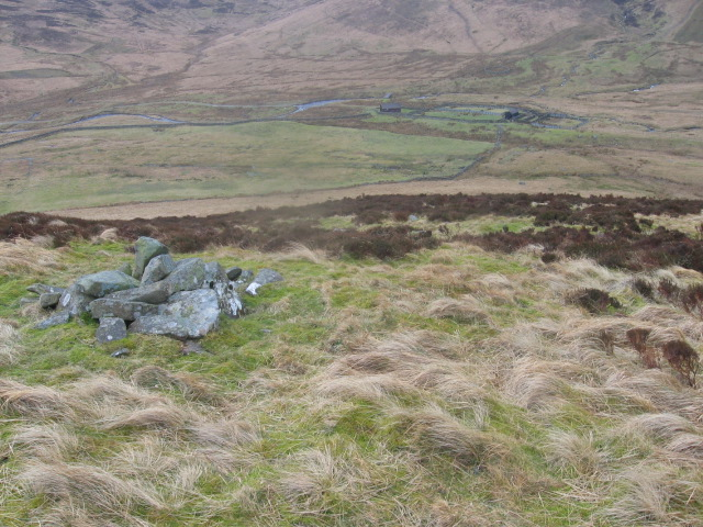 Cairn on Langcleuch Rig