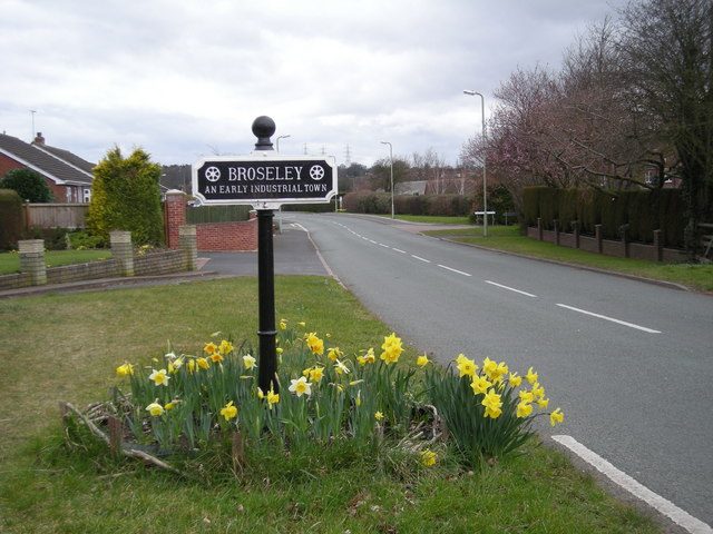 You are now entering Broseley