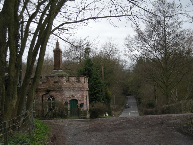 The Round House beside the B4376 to Much Wenlock